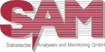 Logo of SAM GmbH - Statistical Analyses and Monitoring